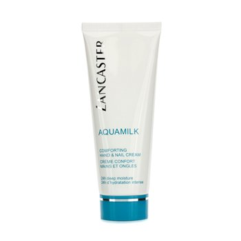 Lancaster Aquamilk Crema Reconfortante Manos y Uñas  75ml/2.5oz