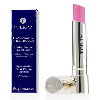 By Terry Hyaluronic Sheer Rouge Hydra Balm Fill & Plump Lipstick (UV Defense) - # 4 Princess In Rose  3g/0.1oz