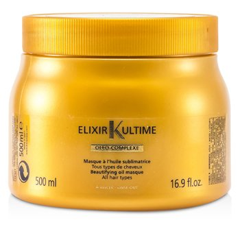 Kerastase Máscara capilarElixir Ultime Oleo-Complexe Beautifying Oil Masque  500ml/16.9oz