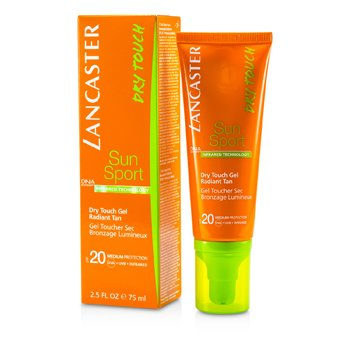 Lancaster Żel do opalania do twarzy Sun Sport Dry Touch Gel Radiant Tan SPF 20 001916  75ml/2.5oz