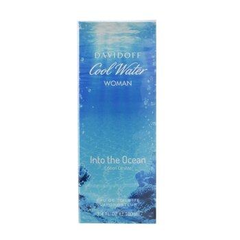 Cool Water Into the Ocean Eau De Toilette Spray  100ml/3.4iz