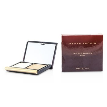 Kevyn Aucoin La Sombra de Ojos Duo - # 202 Vellum Shimmer/ Shimmering Wheat 22102  4.8g/0.16oz