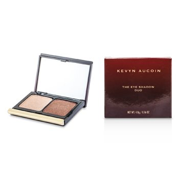 Kevyn Aucoin The Eye Shadow Duo - # 210 Sugared Peach/ Rusted Brown Sugar  4.8g/0.16oz