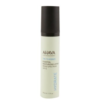 Ahava Loção hidratante Time To Hyrdate Essential Moisturizing Lotion SPF 15  50ml/1.7oz