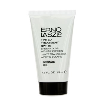 Erno Laszlo Tinted Treatment SPF15 (Sheer Color with Sunscreen) - # 955 Bronze  45ml/1.5oz