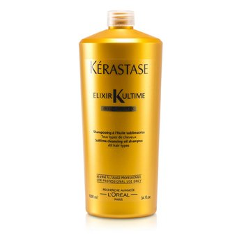 Elixir Ultime Oleo-Complexe Sublime Cleansing Oil Shampoo (For All Hair Types)  1000ml/34oz