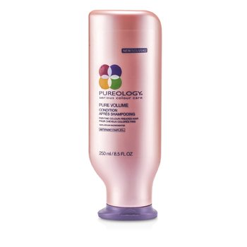 Pureology NEW Pure Volume Condition (For Fine Colour-Treated Hair)  250ml/8.5oz