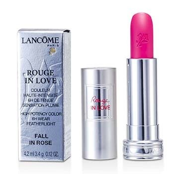 Lancome Rouge In Love Lipstick - # 343B Fall In Rose  4.2ml/0.12oz