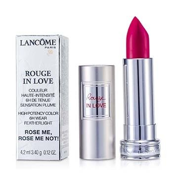Lancome Rouge In Love Pintalabios - # 375N Rose Me, Rose Me Not!  4.2ml/0.12oz