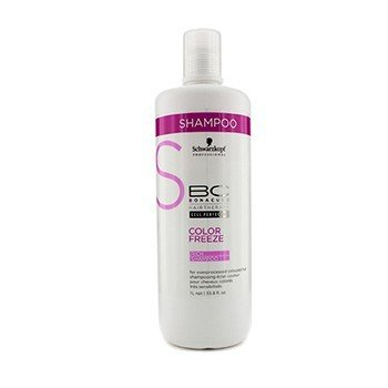 Schwarzkopf BC Color Freeze Rich Shampoo (For Overprocessed Coloured Hair)  1000ml/33.8oz