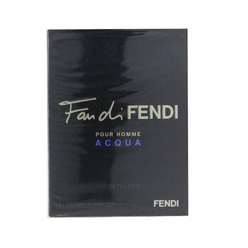 Fan Di Fendi Pour Homme Acqua Eau De Toilette Spray  100ml/3.3oz