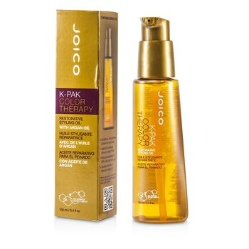 Joico Óleo Restaurador K-Pak Color Therapy Restorative Styling Oil  100ml/3.4oz