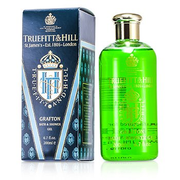 Truefitt & Hill Grafton Gel de Baie şi Duş Revigorant   200ml/6.7oz