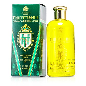 Truefitt & Hill West Indian Limes Gel de Baño y Ducha  200ml/6.7oz