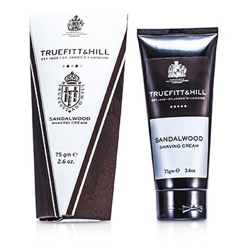 Truefitt & Hill Sandalwood Shaving Cream (Travel Tube)  75g/2.6oz