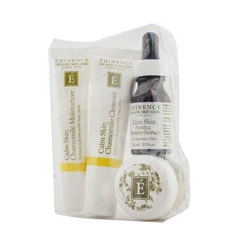Calm Skin Starter Set (For Sensitive Skin)  4pcs+1bag