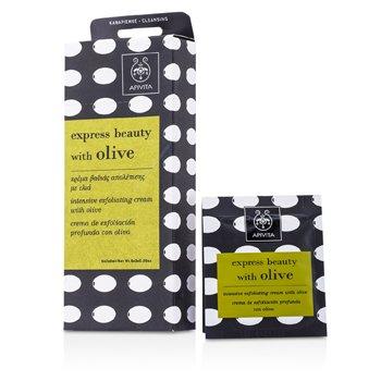 Apivita Express Beauty Exfoliante Intensivo en Crema con Oliva  6x(2x8ml)