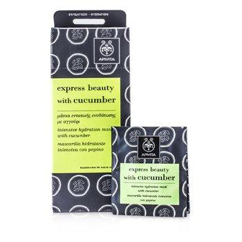 Apivita Express Beauty M�scara Hidratante Intensiva con Pepino  6x(2x8ml)