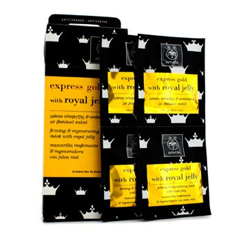 Express Gold Firming & Regenrating Mask with Royal Jelly  6x(2x8ml)