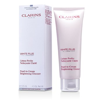 Clarins White Plus Total Luminescent Limpiador Iluminante Crema Perlada  125ml/4.5oz