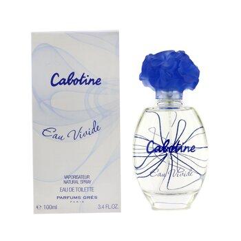 Cabotine Eau Vivide Eau De Toilette Spray  100ml/3.4oz