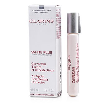 Clarins White Plus Total Luminescent Corrector Blanqueador de Todas las Manchas  7ml/0.2oz
