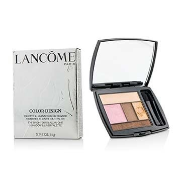 Lancome Color Design 5 Shadow & Liner Palette - # 202 Sienna Sultry (US Version)  4g/0.141oz