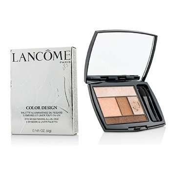 Lancome Color Design 5 Shadow & Liner Palette - # 200 Coral Crush (US Version)  4g/0.141oz