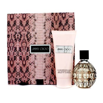 Jimmy Choo Jimmy Choo Coffret: Eau De Parfum Spray 60ml/2oz + Loci�n Corporal 100ml/3.3oz  2pcs