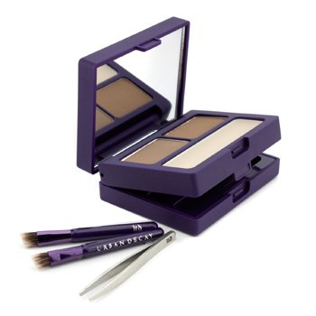 Urban Decay Brow Box: Eyebrow Powder + Wax + Tools - Honey Pot