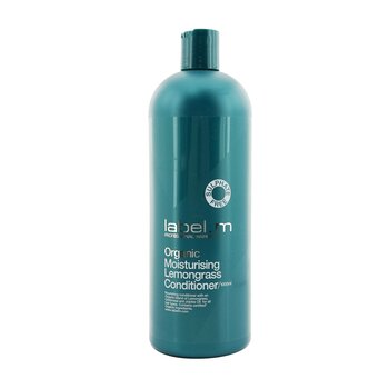 Organic Moisturising Lemongrass Conditioner (Nourishing Conditioner For All Hair Types)  1000ml/33.8oz