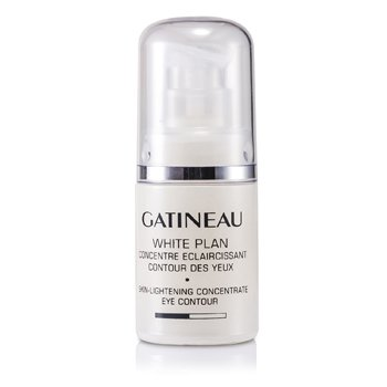 Gatineau Concentrado Para os Olhos White Plan Skin Lightening Concentrate Eye Contour (Sem Caixa)  15ml/0.5oz