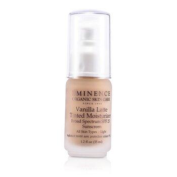 Krem koloryzujący z filtrem ochronnym Vanilla Latte Tinted Moisturizer Broad Spectrum SPF 25 Sunscreen - Light  35ml/1.2oz