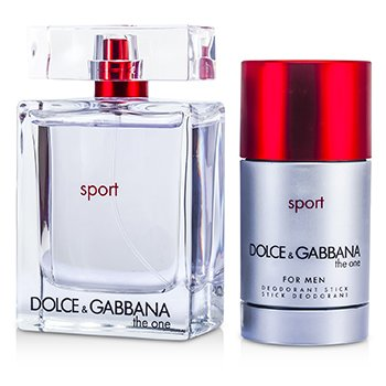 The One Sport Coffret: Eau De Toilette Spray 100ml/3.3oz + Deodorant Stick 75ml/2.4oz  2pcs