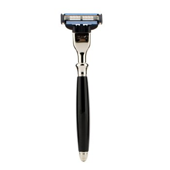 The Art Of Shaving Classic Mach 3 Razor - Black  1pc
