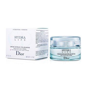 Christian Dior Hydra Life Pro-Youth Silk Creme (normaalsele, kuivale nahale)  50ml/1.7oz