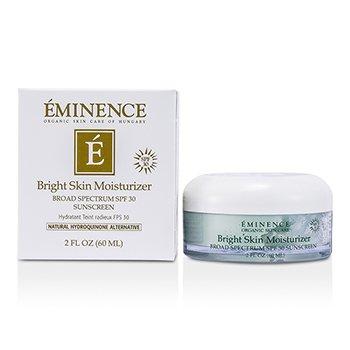 Eminence Bright Skin Moisturizer Broad Spectrum SPF 30 Sunscreen  60ml/2oz