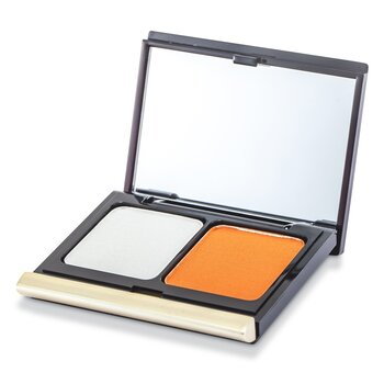 Kevyn Aucoin The Eye Shadow Duo - # 212 Soft Sky/ Tangerine  4.8g/0.16oz