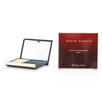 Kevyn Aucoin The Eye Shadow Duo - # 214 Pebble/ Smokey Teal  4.8g/0.16oz