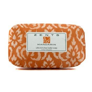 Zents Mandarin Super-rik Sheasmør Såpe  163g/5.7oz