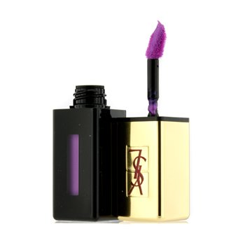 Yves Saint Laurent Rouge Pur Couture Vernis a Levres Rebel Nudes - # 108 Violine Out Of Control  6ml/0.2oz