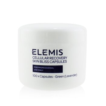 Elemis Cellular Recovery Skin Bliss Capsules (Salon Size) - Green Lavender  100 Capsules
