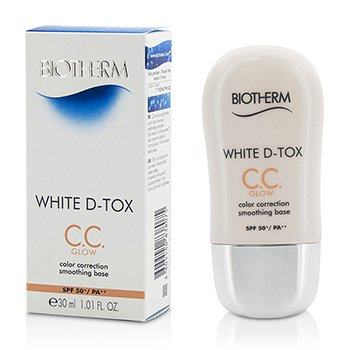 Biotherm White D Tox CC Color Correction Smoothing Base SPF 50 - Glow (Coral)  30ml/1.01oz