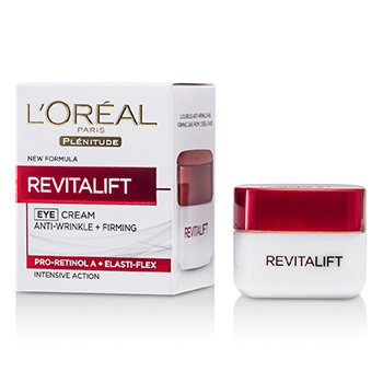 L'Oreal Plenitude RevitaLift Eye Cream (Nova Embalagem)  15ml/0.5oz