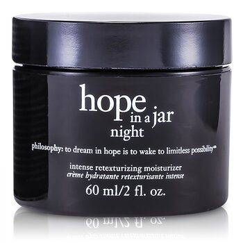Hope In a Jar Night Intense Retexturizing Moisturizer  60ml/2oz