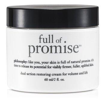 Philosophy Full Of Promise Dual-Action Restoring Cream For Volume & Lift  60ml/2oz