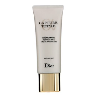 Christian Dior Creme Para Mãos Capture Totale Haute Nutrition Nurturing SPF 15  75ml/2.6oz