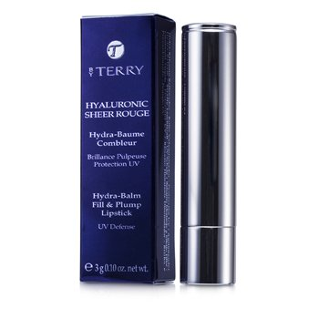 By Terry Hyaluronic Sheer Rouge Hydra Balm Fill & Plump Lipstick (UV Defense) - # 13 Sangria Appeal  3g/0.1oz