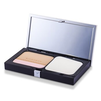 Givenchy Teint Couture Long Wear Compact Foundation & Highlighter SPF10 - # 4 Elegant Beige  10g/0.35oz