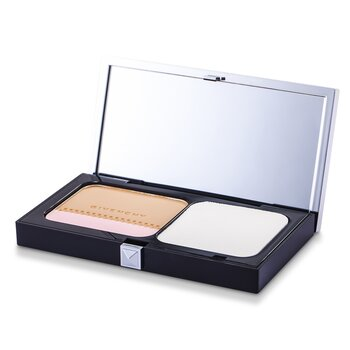 Givenchy Teint Couture Long Wear Compact Foundation & Highlighter SPF10 - # 5 Elegant Honey  10g/0.35oz